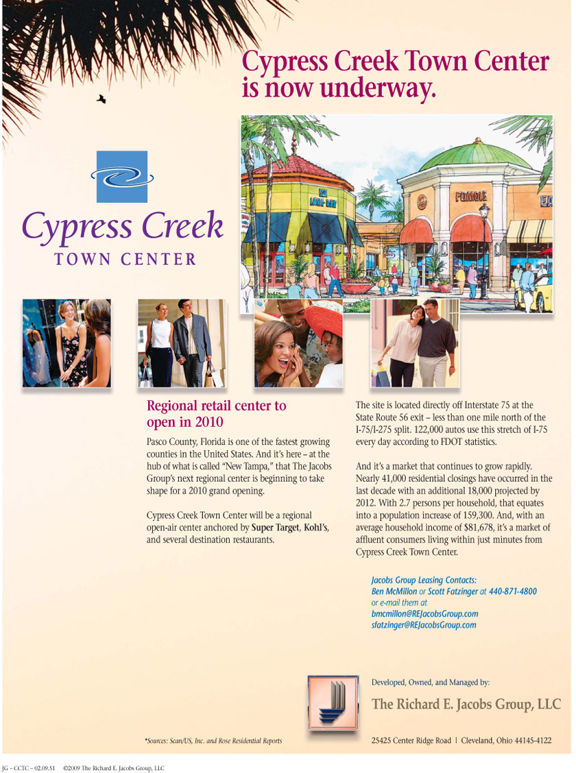 Cypress Creek Town Center - Page 1